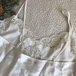 Victoria's Secret Intimates & Sleepwear - Victoria's Secret Lace Trim Lingerie Top Vintage